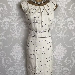 Jacques Vert spotted polka dot dress